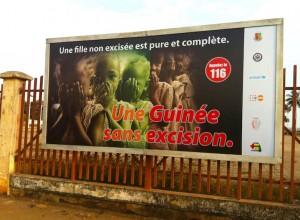 Campagne de lutte contre l'excision en Guinée