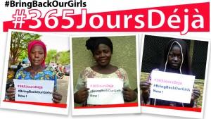 Mobilisation des femmes pour la libération des lycéennes de Chibok